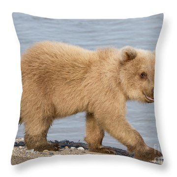 Animal Magnetism Throw Pillow