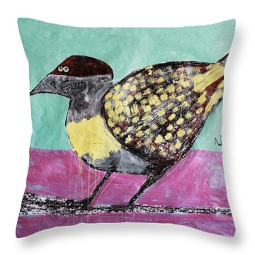 Animalia Avis No.7 Throw Pillow