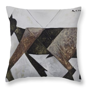 Animalia Walking Goat  Throw Pillow