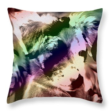 Throw Pillow featuring the photograph Animalistic by Arlene Sundby
