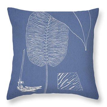 Anisogonium Cordifolium Throw Pillow by Aged Pixel