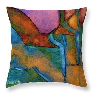 Anklet Throw Pillow