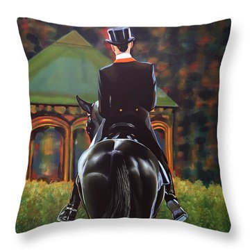 Anky Van Grunsven Salinero Throw Pillow