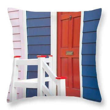 Annapolis Historic Homes IIi Throw Pillow