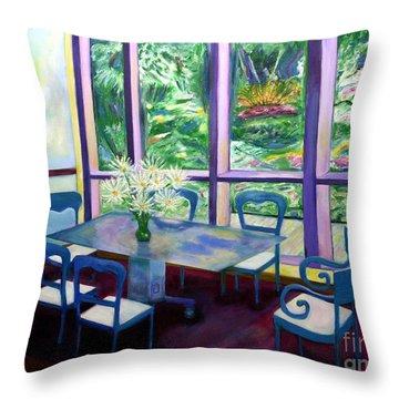 Annapolis Time Throw Pillow by Karen Francis
