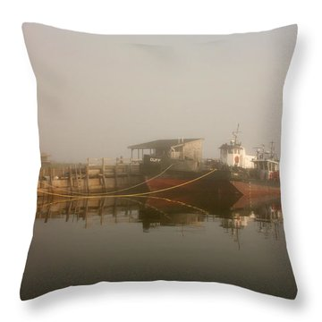 Anne And Duff Throw Pillow