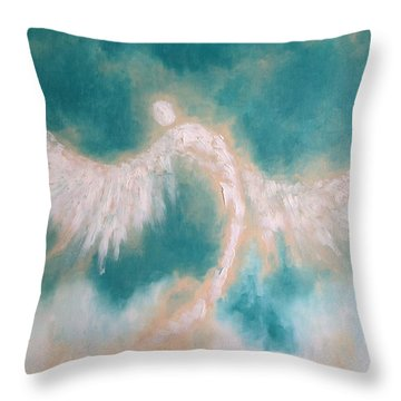 Anne's Angel Throw Pillow