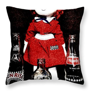 Annie Forever Throw Pillow
