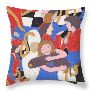 Annie Get Your Gun Throw Pillow by Barbara St Jean