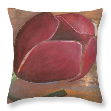 Anniversary Flower Throw Pillow