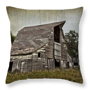 Another Barn Photo Throw Pillow