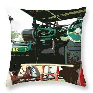 Another Beauty Throw Pillow by Kathleen Struckle