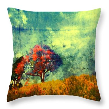 Throw Pillow featuring the painting Another Chance by Joe Misrasi