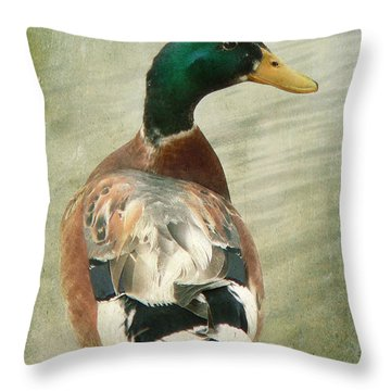Another Duck ... Throw Pillow