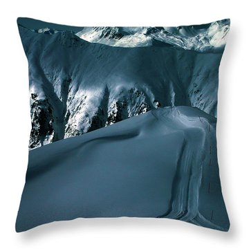 Another Late Day In The Mountains  Throw Pillow by Colette V Hera  Guggenheim