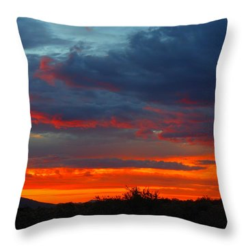 Another Masterpiece Created By The Hand Of Our Creator. Throw Pillow