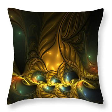 Another Mystical Place Throw Pillow