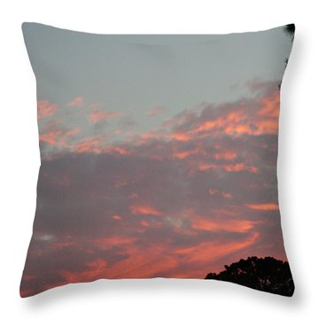 Another Rayburn Sunset Throw Pillow