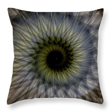 Another Spiral  Throw Pillow by Elizabeth McTaggart