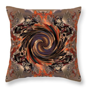 Another Swirl Throw Pillow