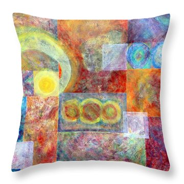 Another Tropical Depression Throw Pillow