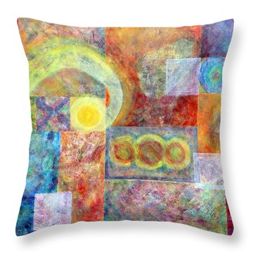 Another Tropical Depression Throw Pillow by Jim Whalen