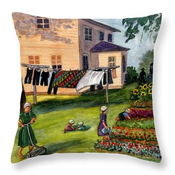 Another Way Of Life II Throw Pillow