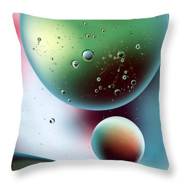 Another World 1 Throw Pillow