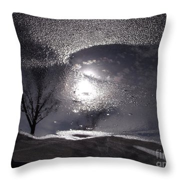 Throw Pillow featuring the photograph Another World by Lyric Lucas