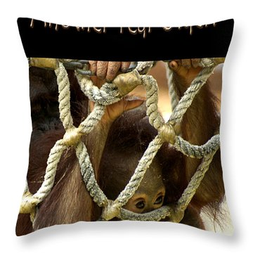 Another Year Older Throw Pillow