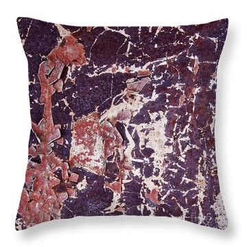 Ant And Grasshopper Abstract Square Throw Pillow