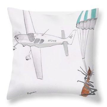 Ant Rescue Throw Pillow