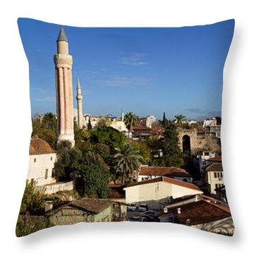 Antalya's Panorama Throw Pillow