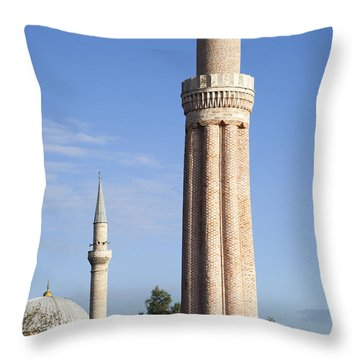 Minarets Throw Pillow
