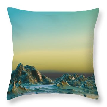 Ante Somnum - Surrealism Throw Pillow