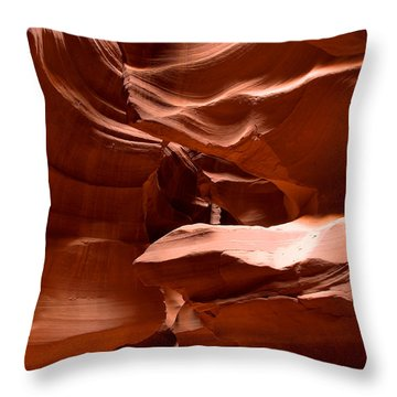 Antelope Canyon 1 Throw Pillow
