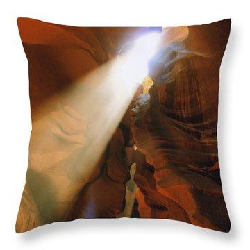 Antelope Canyon One Throw Pillow