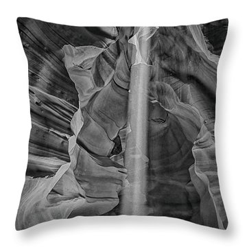Antelope Canyon Slot Canyon Throw Pillow
