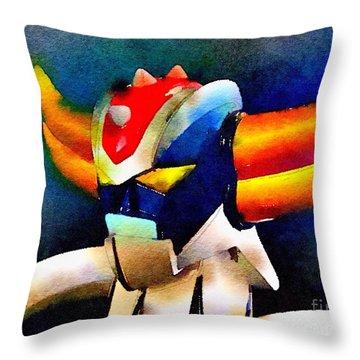 Anterak One Throw Pillow
