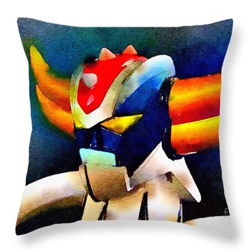 Anterak One Throw Pillow