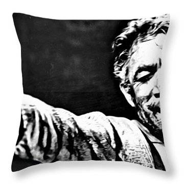 Anthony Quinn As Zorba Throw Pillow