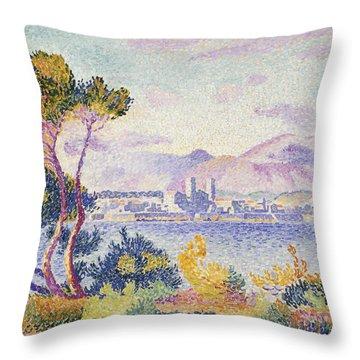 Antibes Afternoon Throw Pillow by Henri Edmond Cross