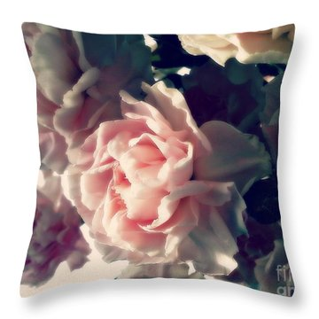 Throw Pillow featuring the photograph Anticipation  by Kristine Nora
