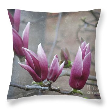 Anticipation Throw Pillow by Leanne Seymour