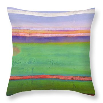 Anticipation Throw Pillow by Lou Gibbs