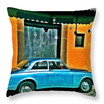 Antigua Volvo Throw Pillow