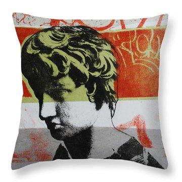 Antinous V Throw Pillow by Carmine Santaniello