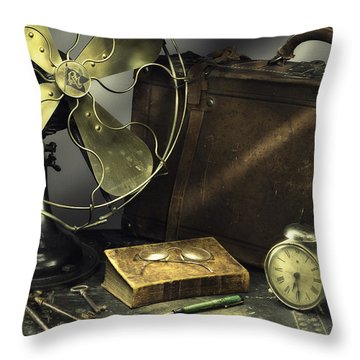 Antique 01 Throw Pillow by Niels Nielsen