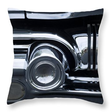 Antique Car Grill Throw Pillow