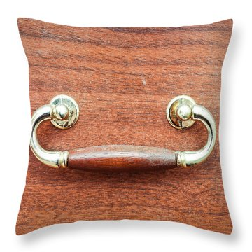 Antique Drawer Throw Pillow